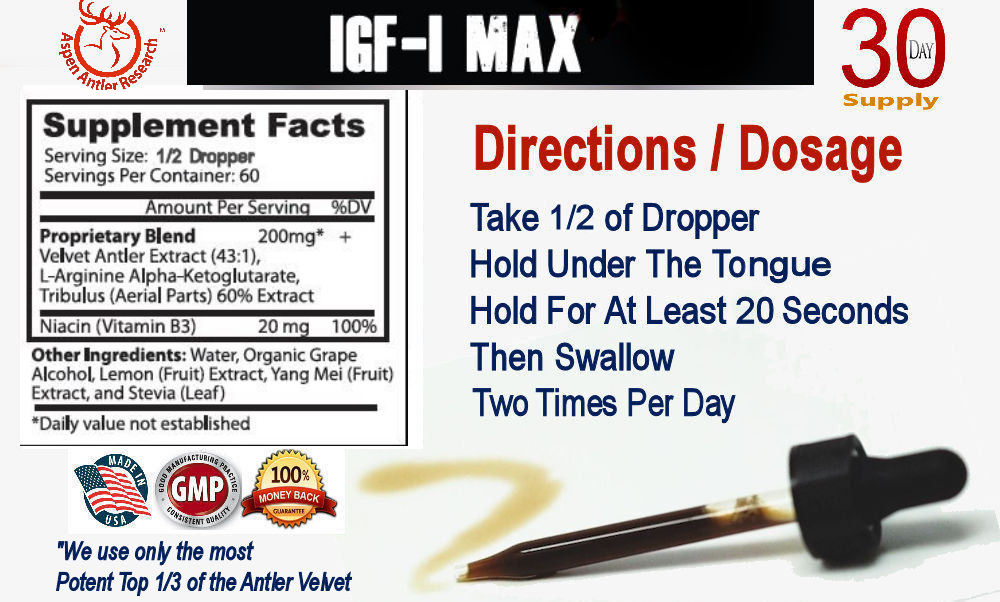 Aspen Max Directions Facts