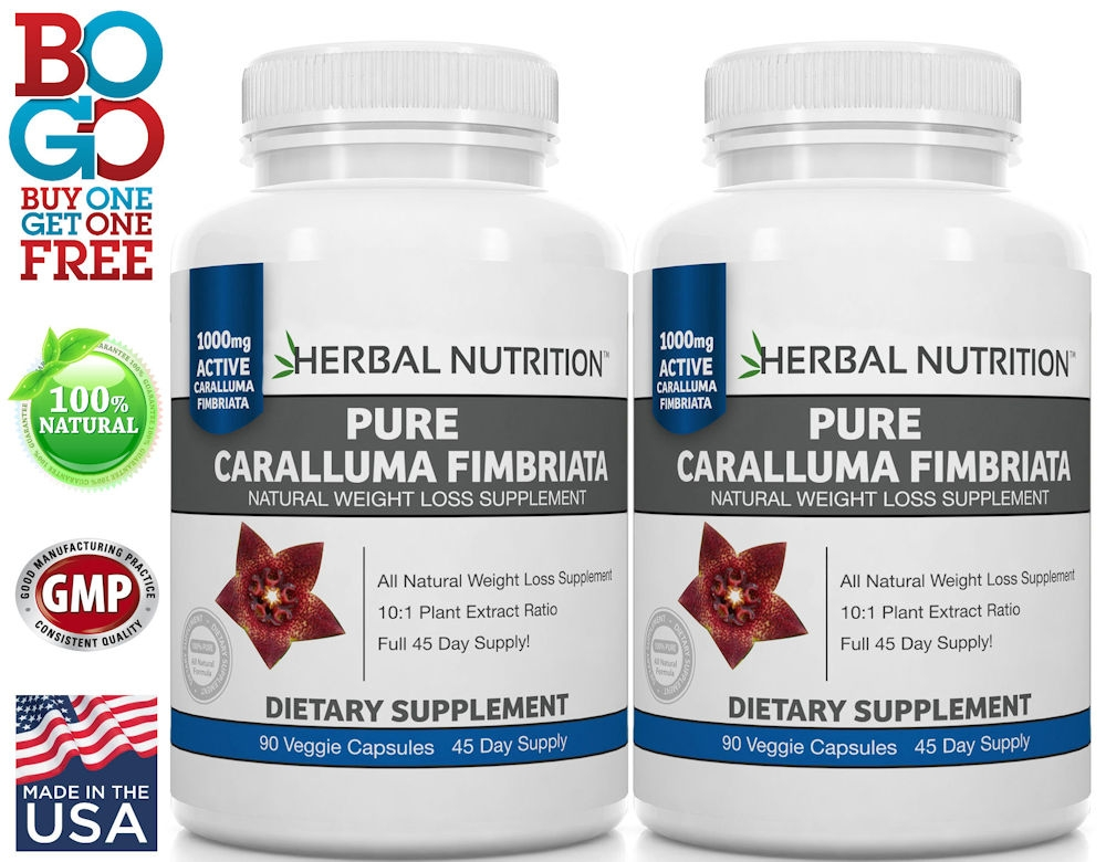 Caralluma Fimbriata Two Bottles