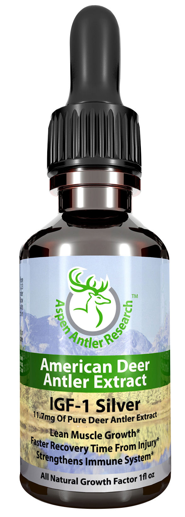 Deer Antler Velvet Extract Silver One Bottle