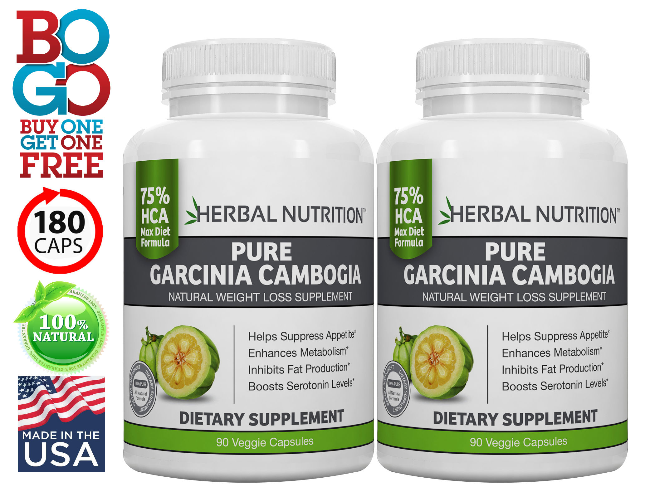 Gacinia Cambogia Two Bottles