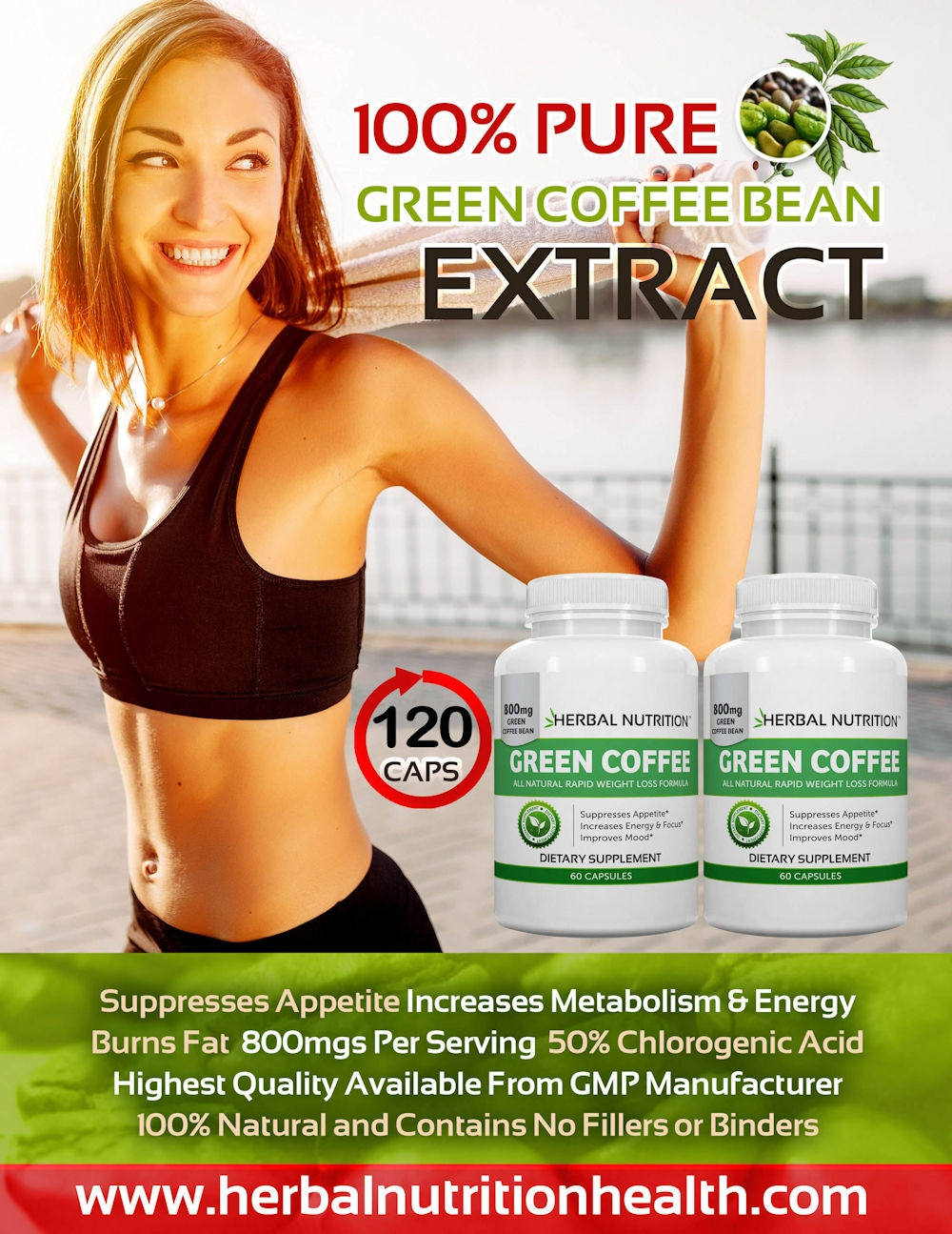 Green Coffee Bean Extract Graphic