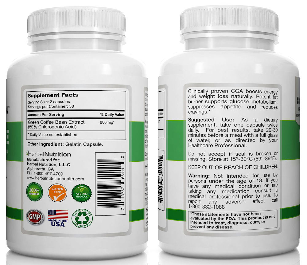 Green Coffee Bean Extract Facts