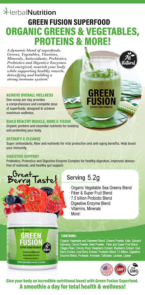 Green Fusion Infographic