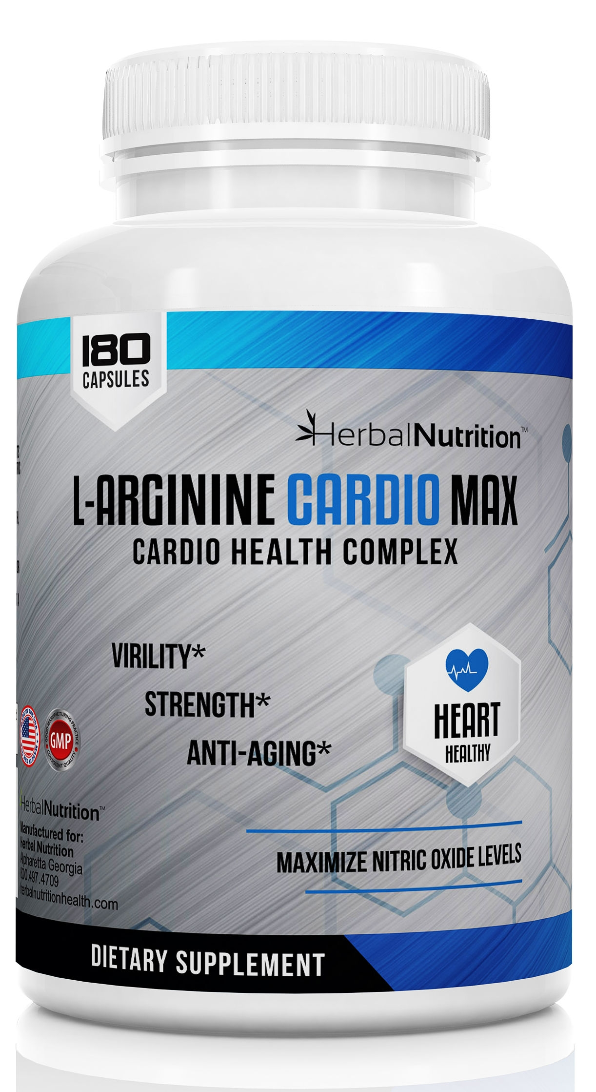 L-Arginine Cardio Max One Bottle