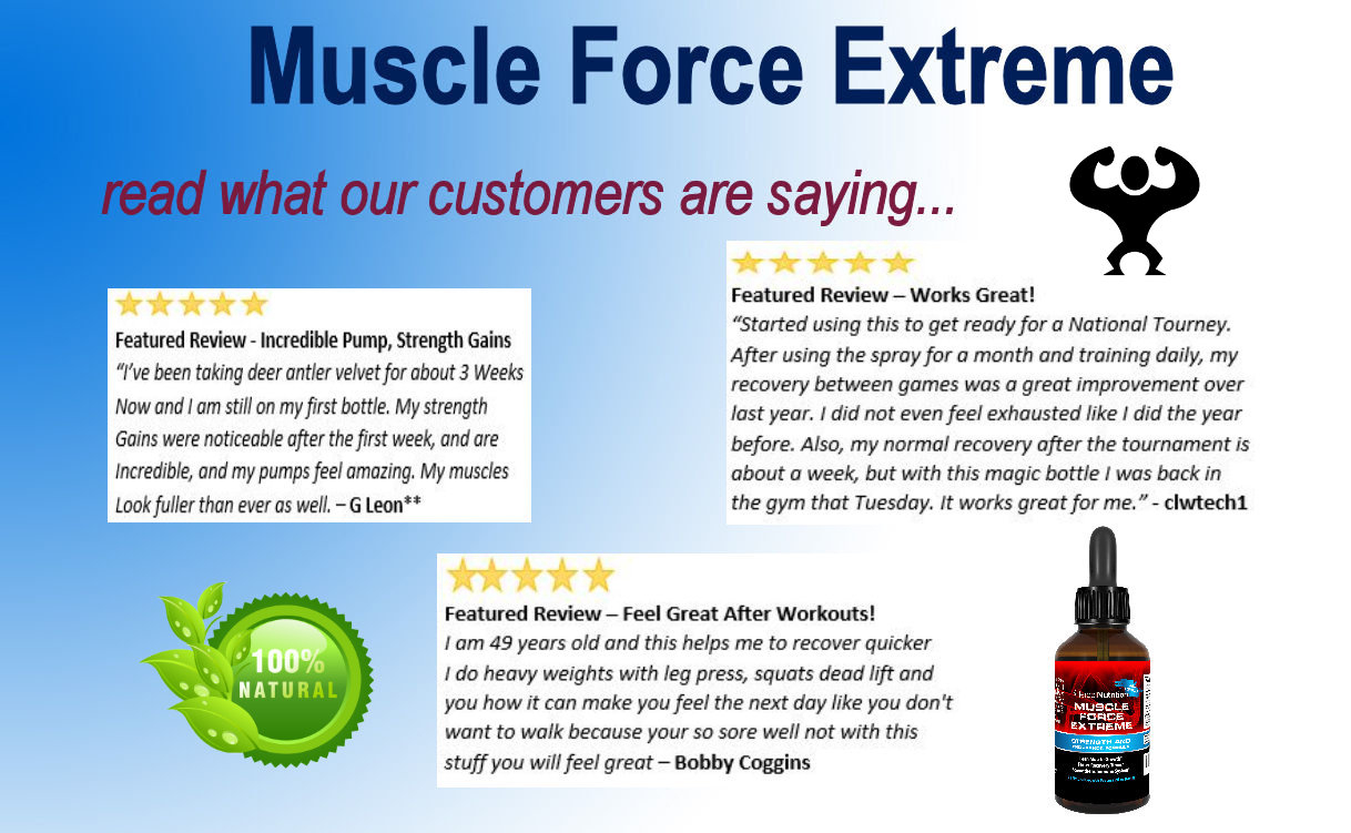 Muscle Force Extreme Reviews