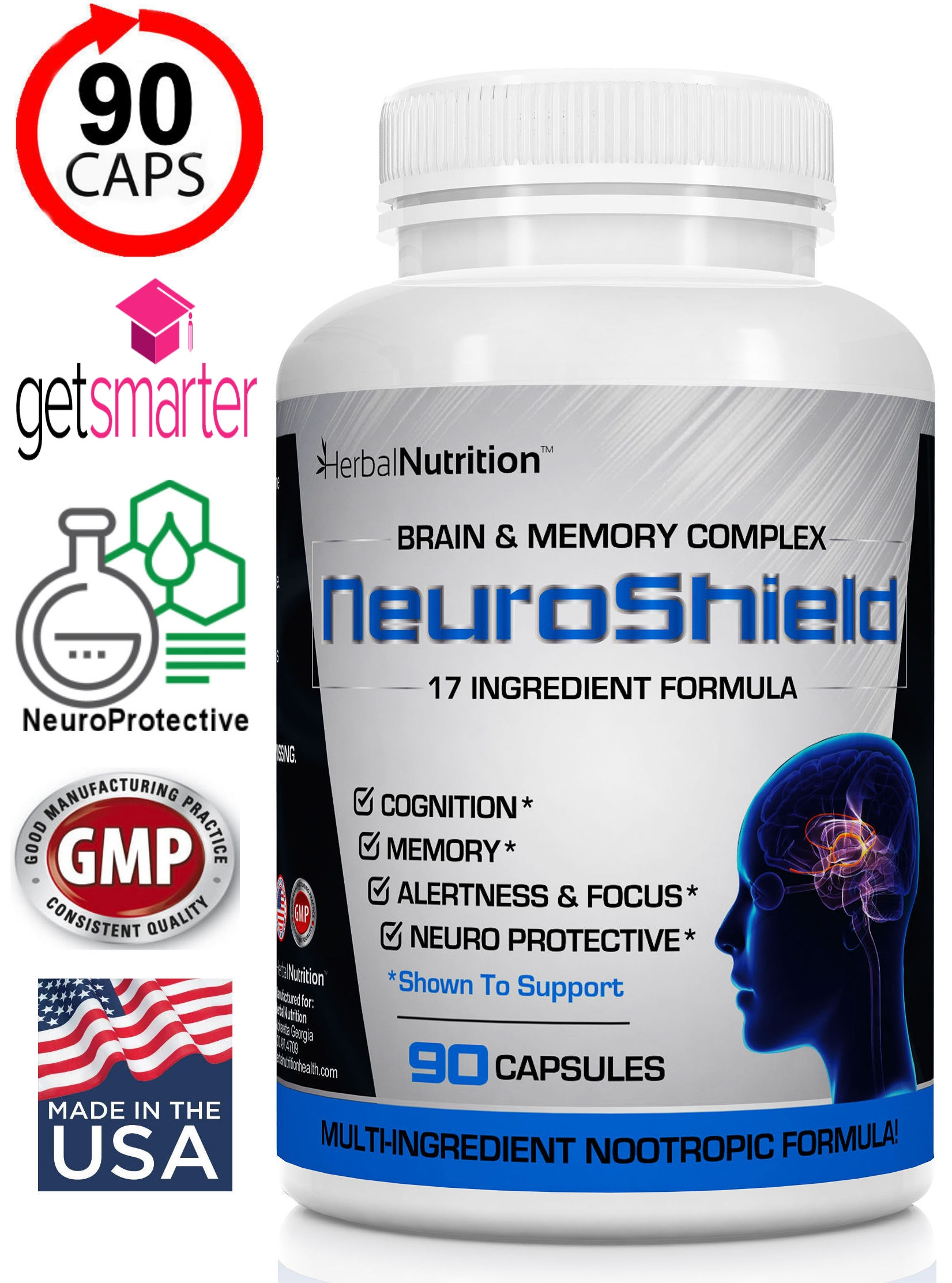 Neuroshield Brain & Memory Formula