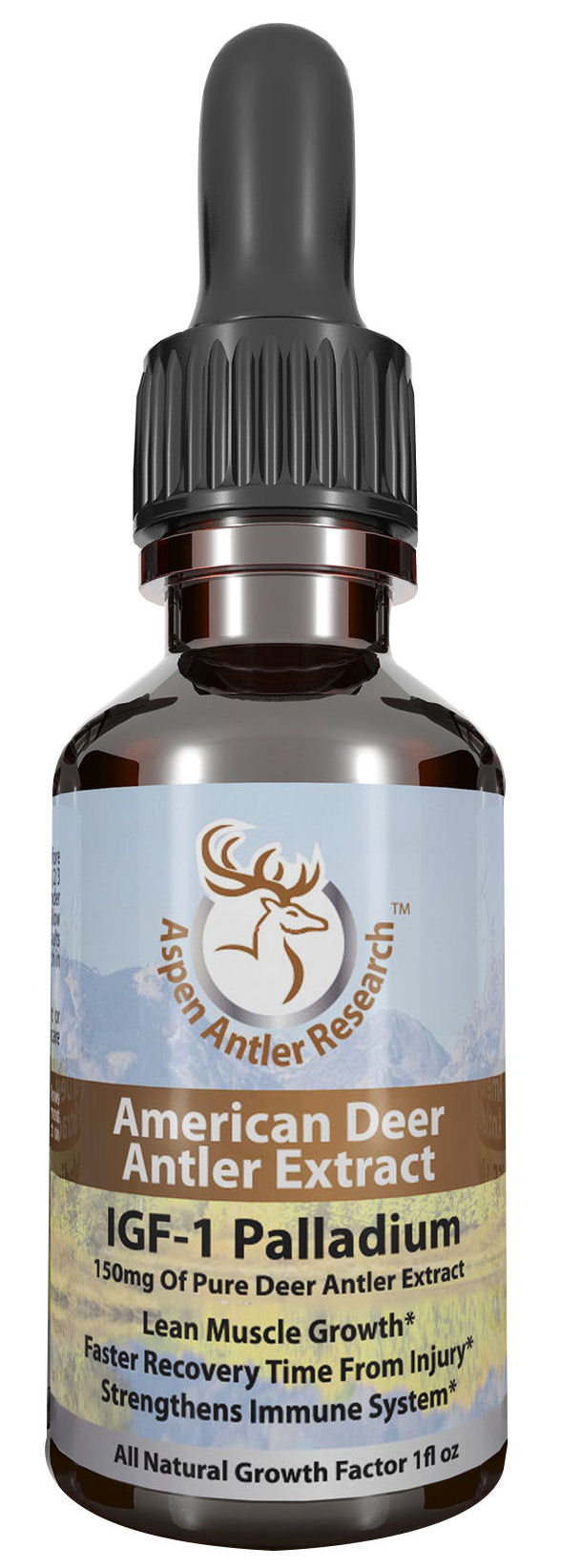 Deer Antler Velvet Extract Palladium One Bottle