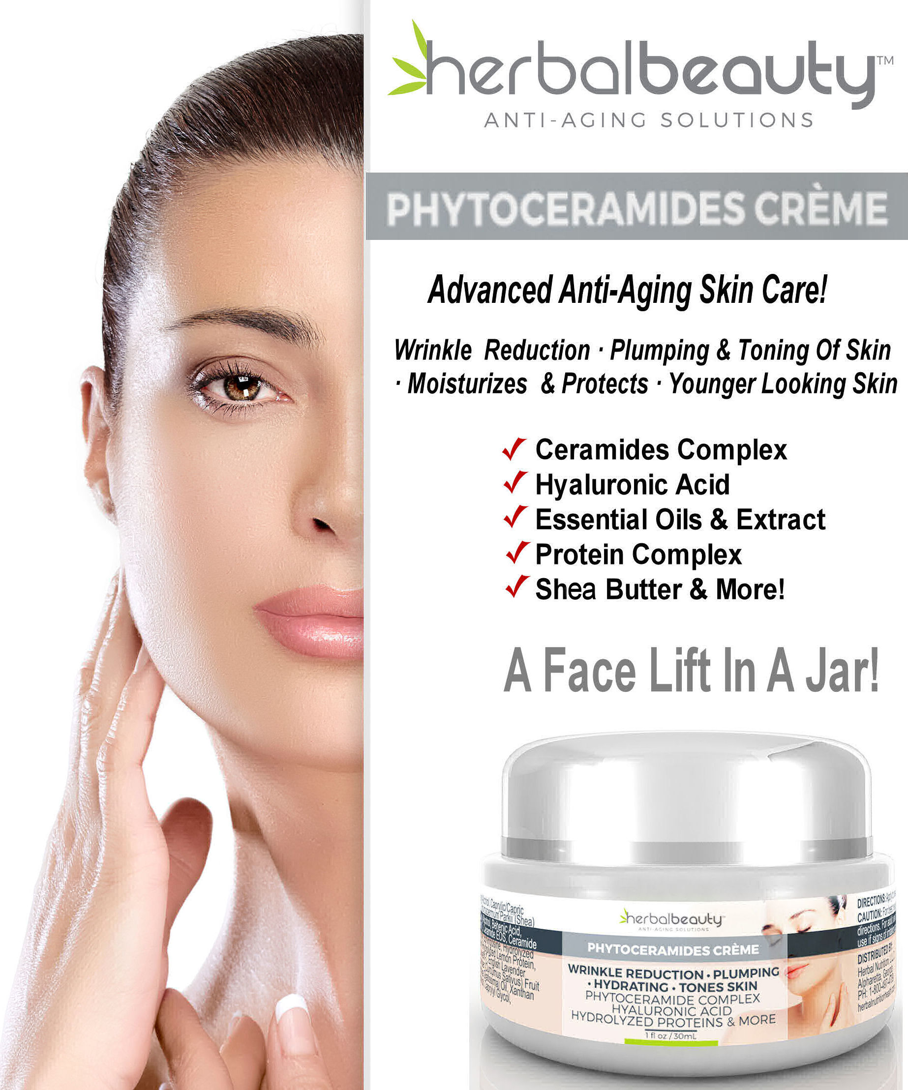 Phytoceramides Creme List of Benefits