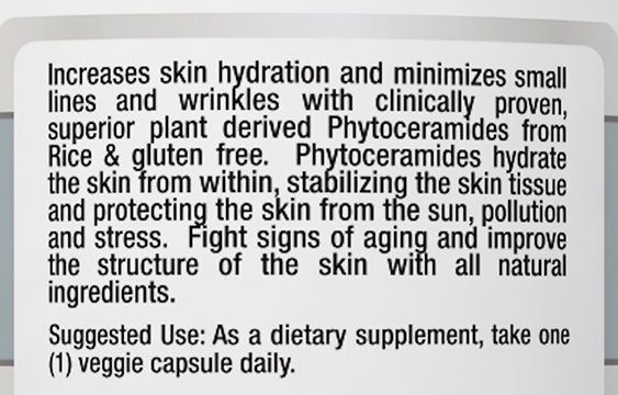 Phytoceramides Directions