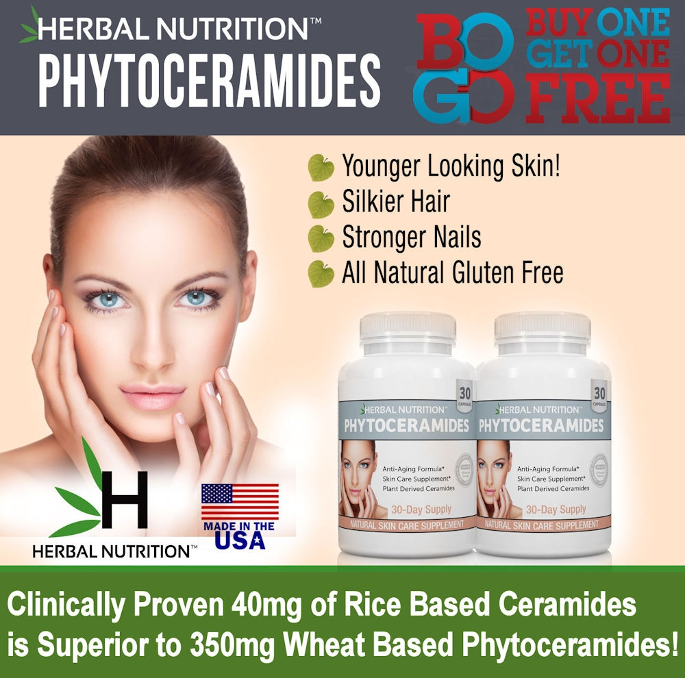 Phytoceramides Two Bottle Graphic