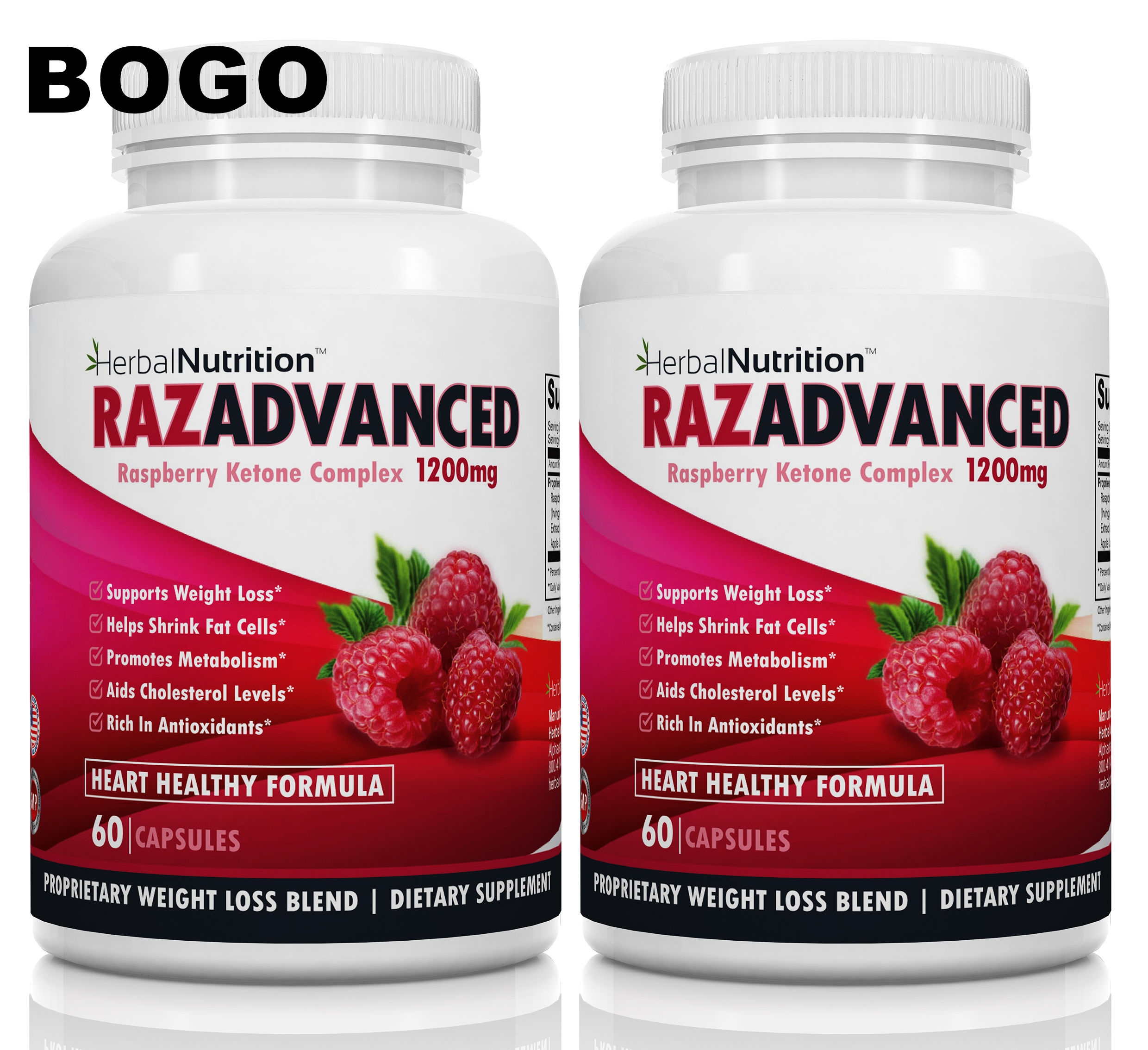 Certified raspberry ketones