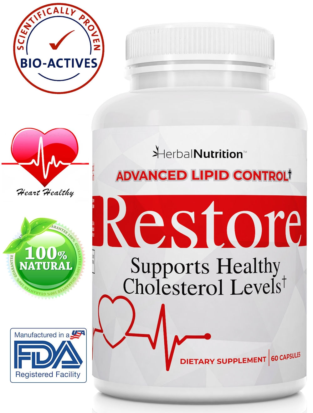 Restore Lowers Cholesterol