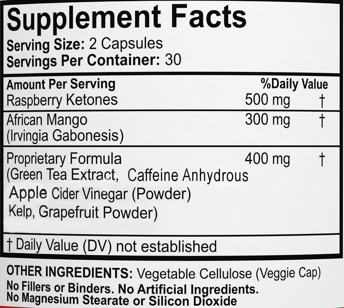 Raspberry Ketones Complex Facts