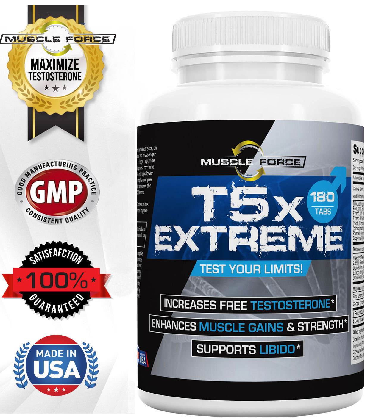 T5x Extreme Capsules One Bottle