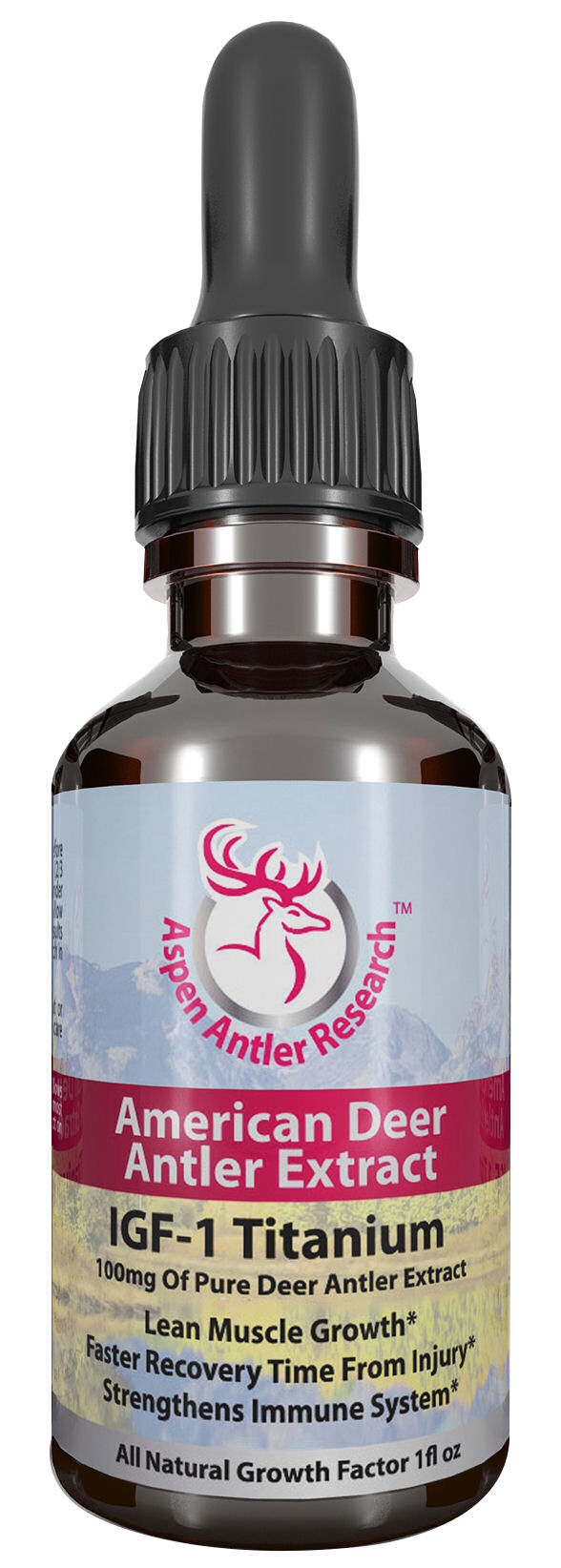 Deer Antler Velvet Extract Titanum One Bottle