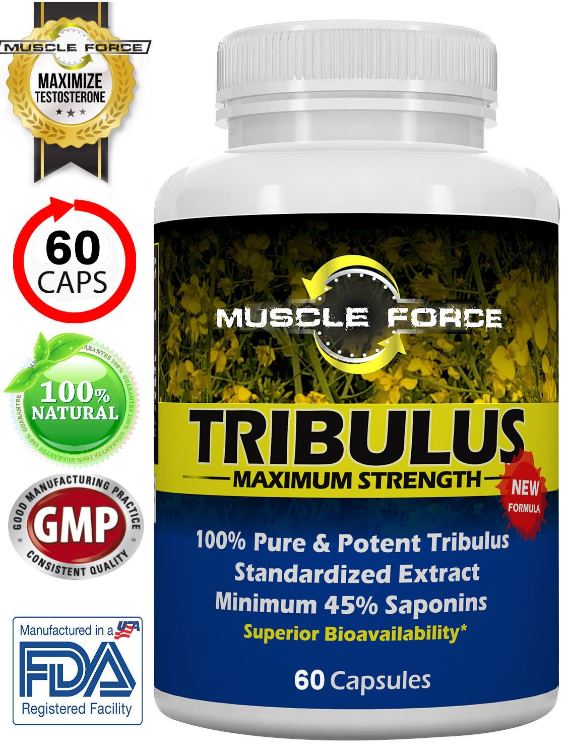 Tribulus Terrestris One Bottle