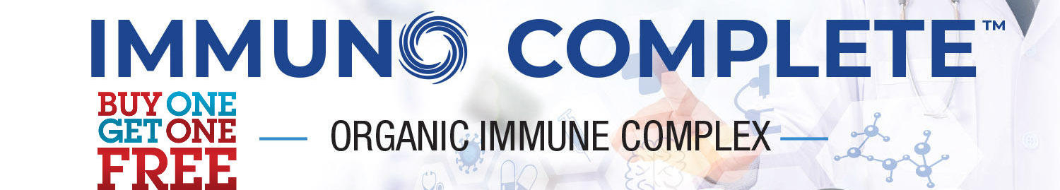 Immuno Complete Two Bottles Immune System Booster