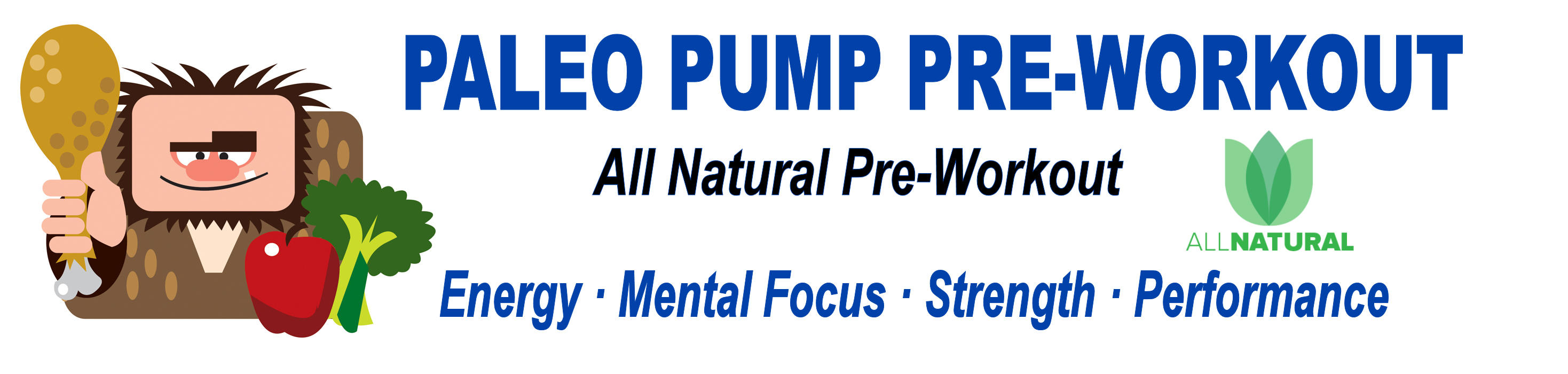 Paleo Pump Pre-Workout Powder One Container