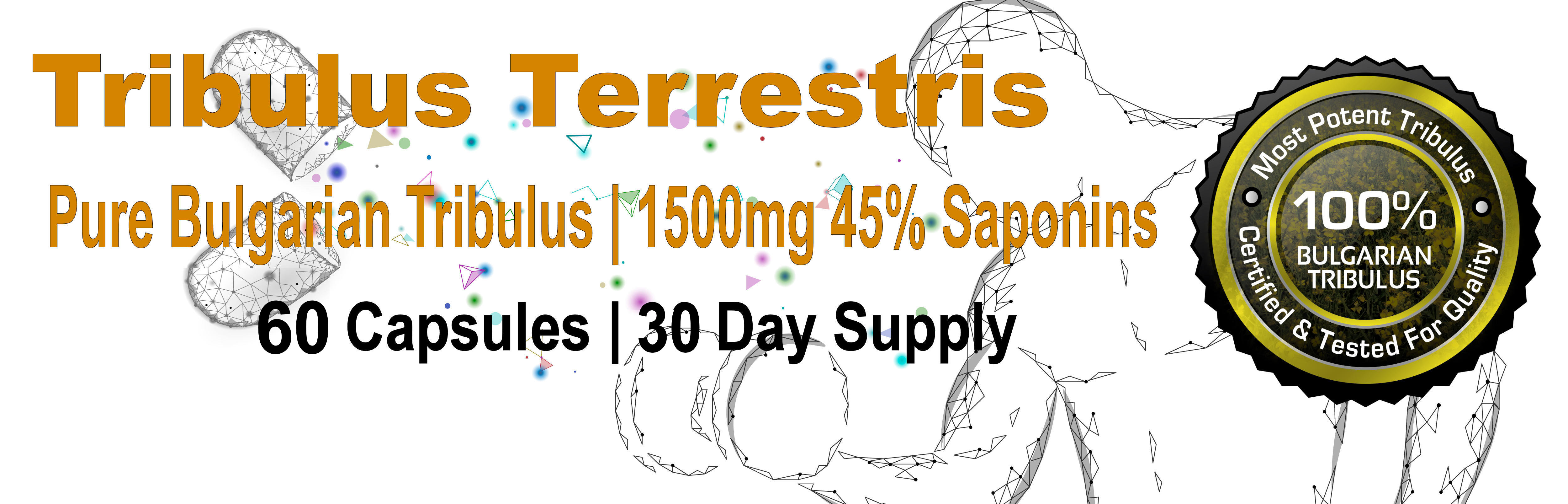 Tribulus Terrestris One 60 Count Bottle